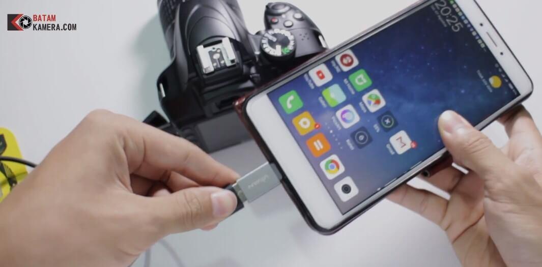 Cara Memindahkan Foto atau Video ke HP